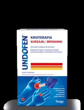UNDOFEN® <strong>KRIOTERAPIA</strong> <span>KURZAJKI/BRODAWKI</span>